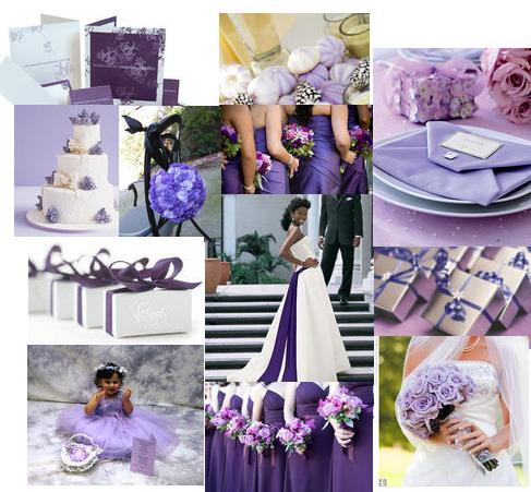 Purple Wedding Decorations on Purple Theme Wedding Decoration