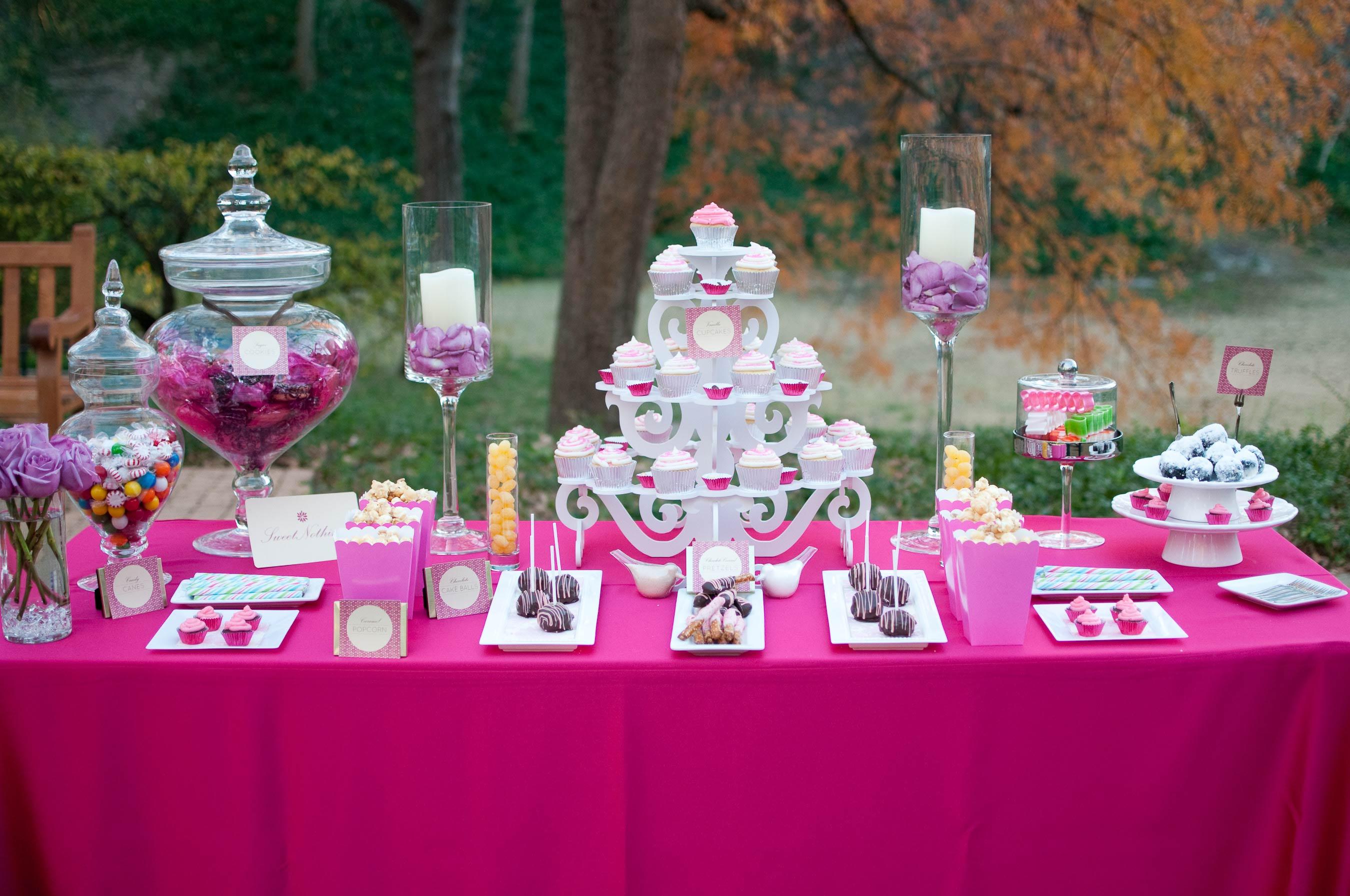 Wedding Desserts Corner
