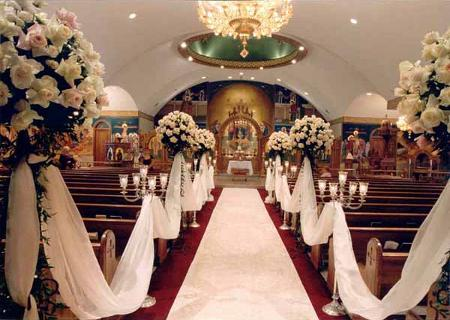 16 Best 1000 images about Church wedding decoration ideas on Pinterest