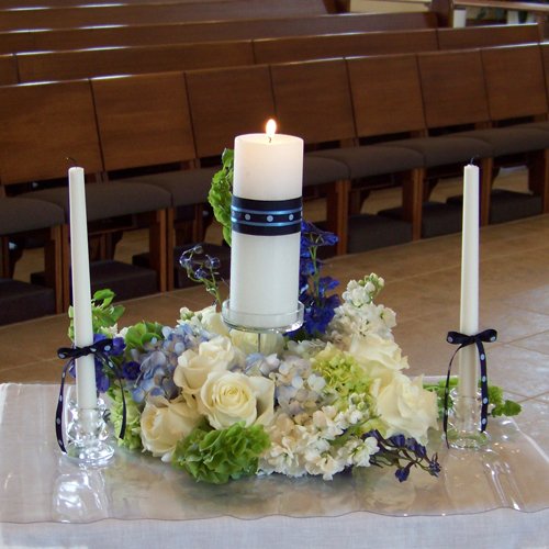 Wedding Altar Meaning: Blue Theme