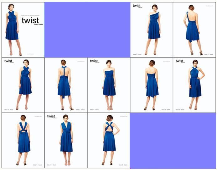 Multi style dress pattern