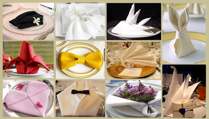 Салфетки бумажные на свадьбу
