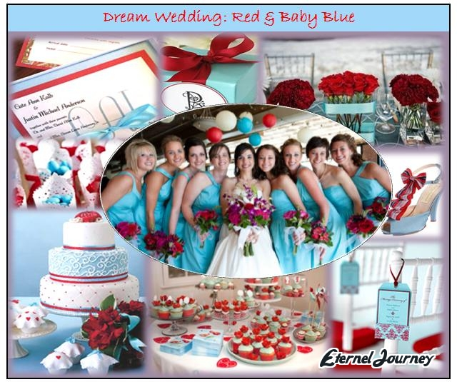 Eternel Journey Red Baby Blue Theme Meaning behind the colors