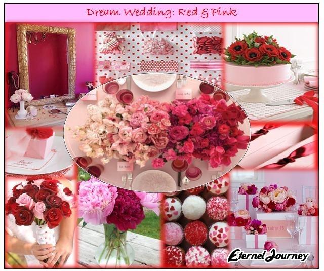 Pink Wedding Themes Ideas: Summer Wedding Theme & Design: Red & Pink