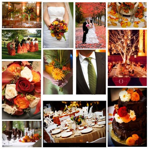 wishywashy whites of winter weddings autumn fall wedding themes